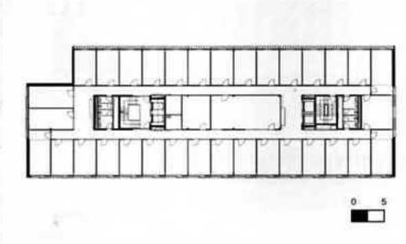 Edificio de oficinas en berna ficha fotos y planos for Planos de oficinas