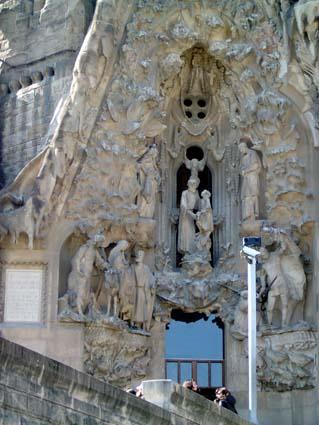 Sagrada familia ficha fotos y planos wikiarquitectura - Carpintero en barcelona ...