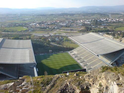 Estadio Municipal de Braga - Ficha, Fotos y Planos - WikiArquitectura