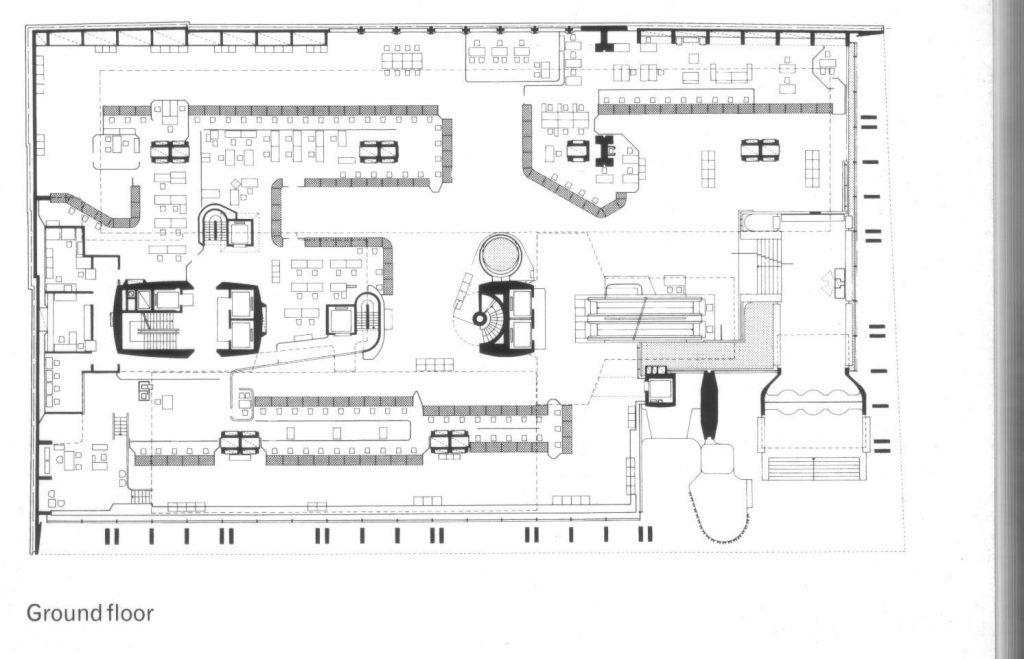 Banco de londres ficha fotos y planos wikiarquitectura - Planta baja en ingles ...