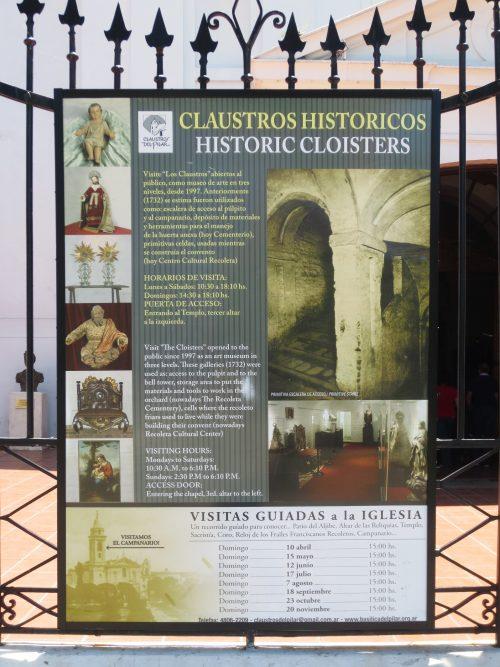 Recoleta Cultural Center And Buenos Aires Design Data