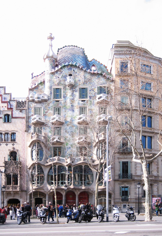 Casa batll ficha fotos y planos wikiarquitectura - Casas de gaudi ...