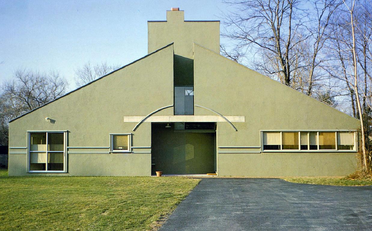 Casa vanna venturi ficha fotos y planos wikiarquitectura for Para su casa