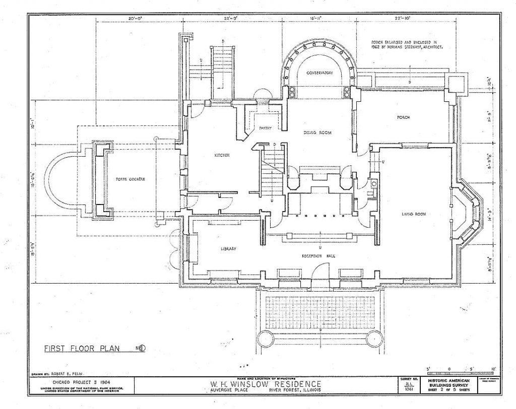 casa winslow - ficha  fotos y planos