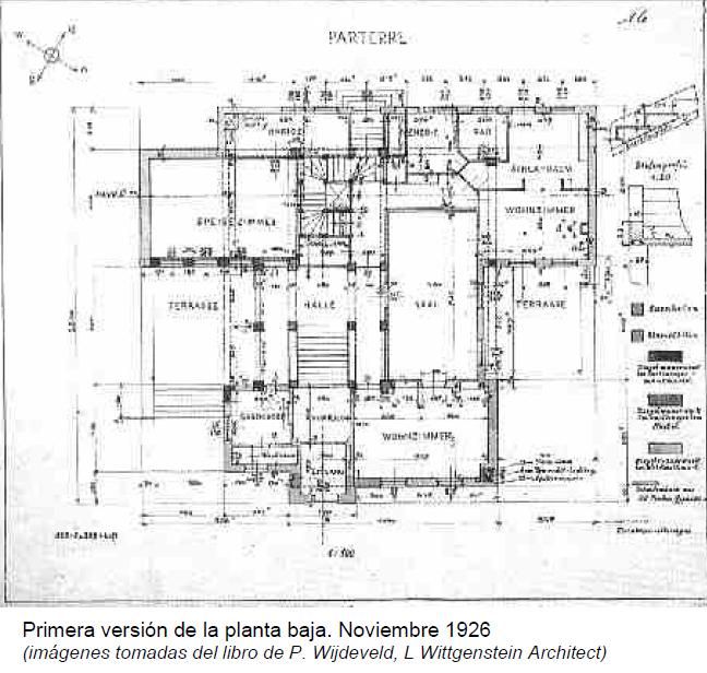 Casa de la hermana de wittgenstein plano 2 wikiarquitectura - Plano de la casa ...