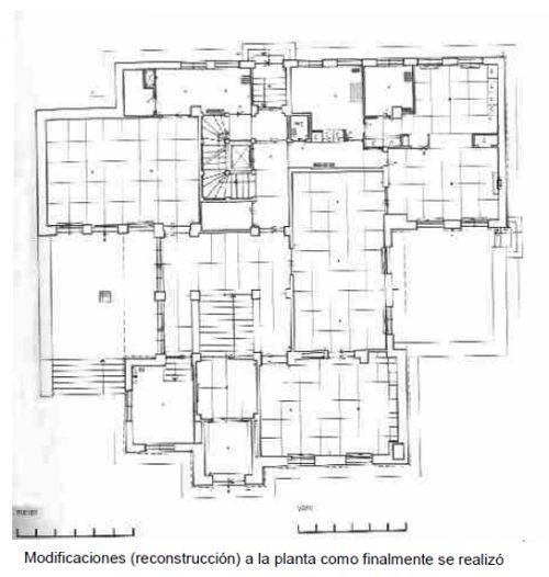 Casa de la hermana de wittgenstein plano 3 wikiarquitectura - Plano de la casa ...