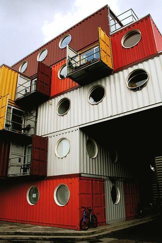 Container city ficha fotos y planos wikiarquitectura - Casas prefabricadas de contenedores ...