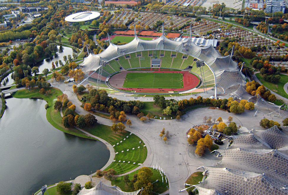 Estadio Olímpico de Múnich - Ficha, Fotos y Planos - WikiArquitectura