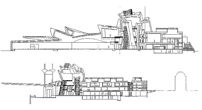 Guggenheim Bilbao Ficha Fotos Y Planos WikiArquitectura