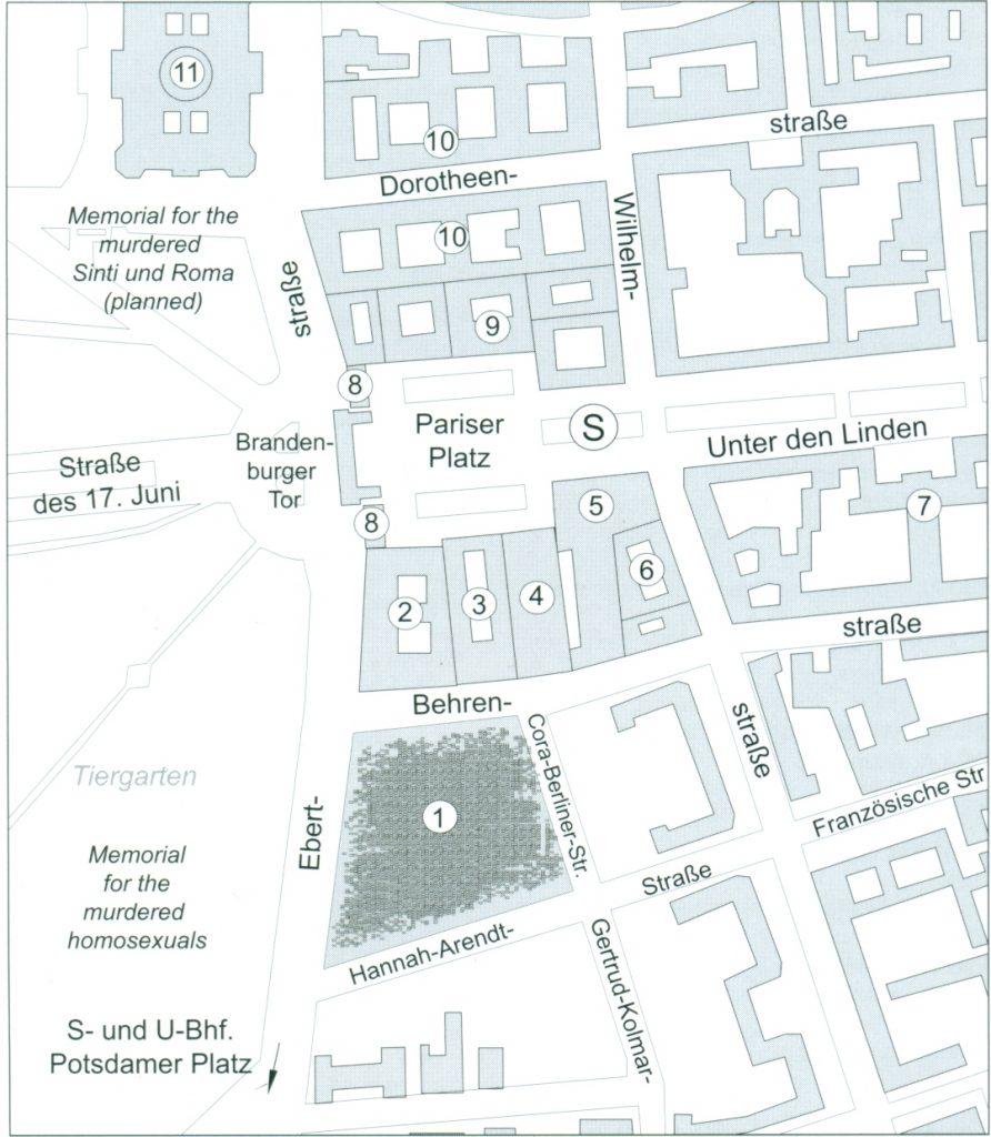 Monumento del holocausto ficha fotos y planos for Pie de plano arquitectonico pdf