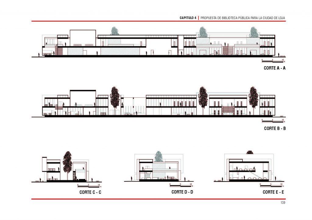 Biblioteca p blica loja ficha fotos y planos for Planta arquitectonica biblioteca