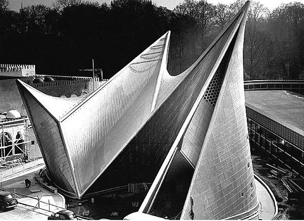 Pabellón Philips Expo 58 Ficha Fotos Y Planos