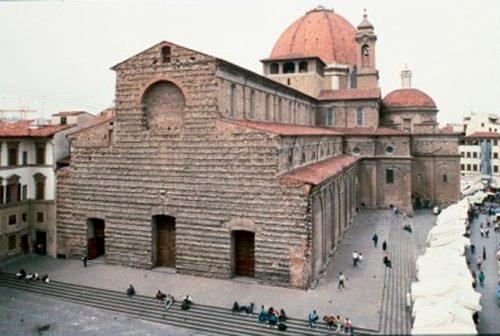 Bas lica de san lorenzo ficha fotos y planos for Interior iglesia san lorenzo brunelleschi
