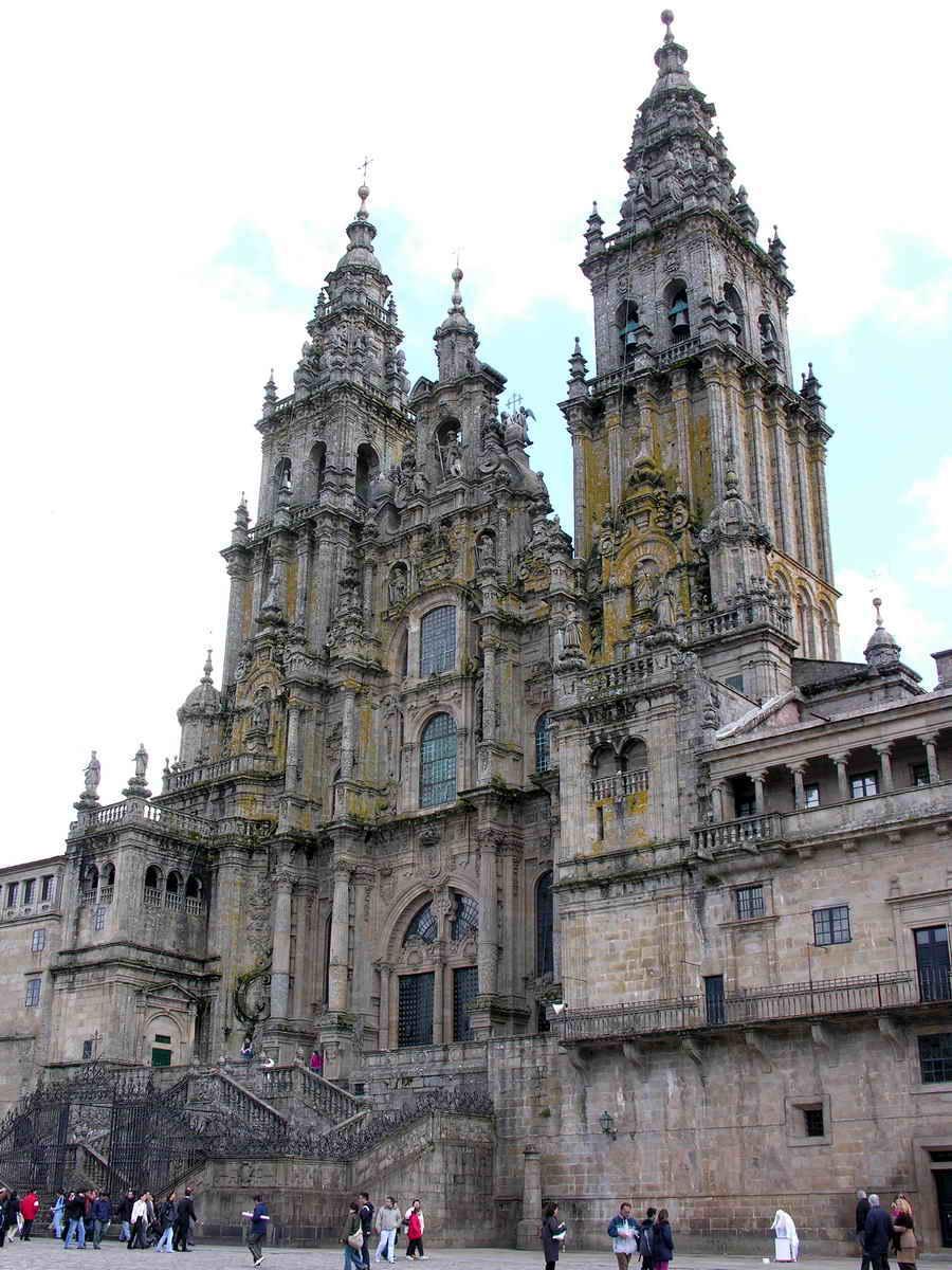 catedral de santiago de compostela ficha fotos y planos