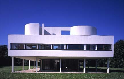 Villa savoye ficha fotos y planos wikiarquitectura - Arquitecto le corbusier ...