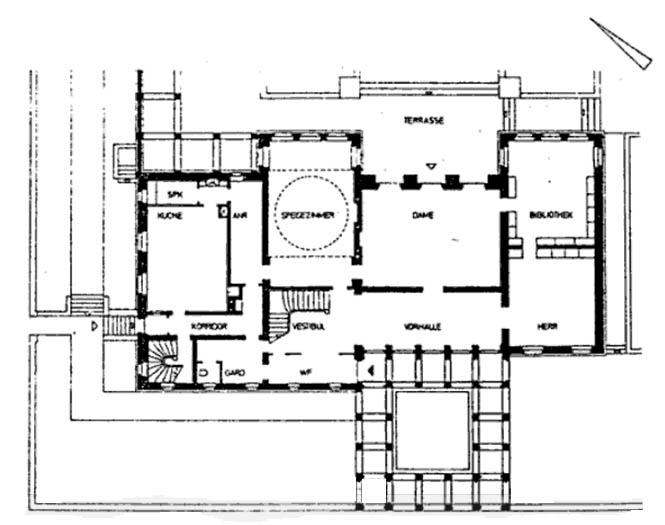 casa wiegand ficha fotos y planos wikiarquitectura. Black Bedroom Furniture Sets. Home Design Ideas